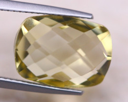 7.42ct Natural Lemon Quartz Octagon Cut Lot GW8151
