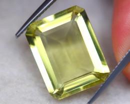 10.10ct Natural Lemon Quartz Octagon Cut Lot GW8155