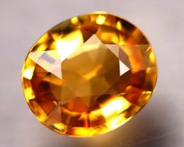 Tourmaline 1.65Ct Natural Golden Yellow Tourmaline E2720/B19
