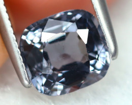 Spinel 1.36Ct Square Cut Natural Burmese Blue Spinel B7113