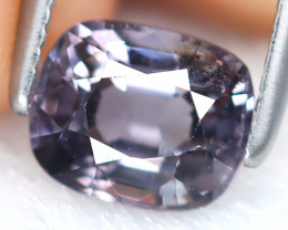 Spinel 1.12Ct Octagon Cut Natural Burmese Purple Spinel B7122