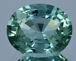 6.75 ct AIG CERTIFIED Copper Bearing Paraiba Tourmaline Gemstone