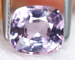 Spinel 1.26Ct Square Cut Natural Burmese Purple Spinel B7162