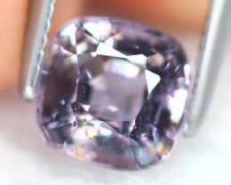 Spinel 1.16Ct Square Cut Natural Burmese Purple Spinel B7163