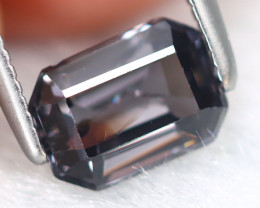 Spinel 1.01Ct Octagon Cut Natural Burmese Purple Spinel B7164