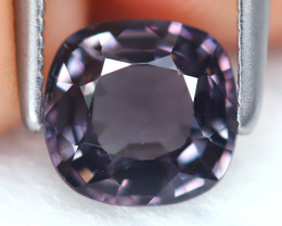 Spinel 1.06Ct VS2 Square Cut Natural Burmese Purple Spinel B7167