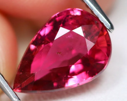 Pink Tourmaline 2.67Ct Pear Cut Natural Vivid Pink Tourmaline A2403