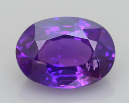 Color Change  1.06 ct Purple Sapphire SKU.31