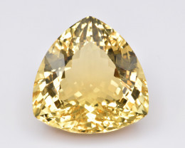 Natural Heliodor 35.38 Cts Big Size  and Top Quality Gemstone