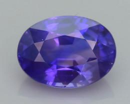 Color Change  1.05 ct Sapphire SKU.32