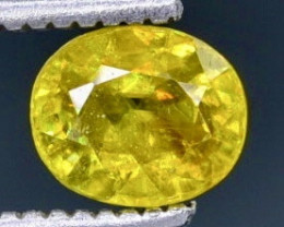 0.71 Crt  Sphene Faceted Gemstone (Rk-35)