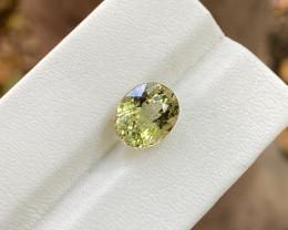Natural Yellow Tourmaline 3.75 Cts Good Quality Gemstone