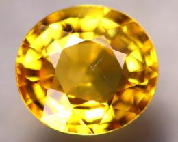 Tourmaline 1.74Ct Natural Golden Yellow Tourmaline D2814/B19