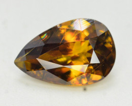 Natural 1.80 Carat Sphene With Amazing Spark