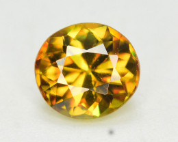 Natural 0.80 Carat Sphene With Amazing Spark