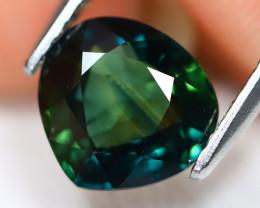 Sapphire 2.12Ct VS Pear Cut Natural Australian Mermaid Sapphire C2501