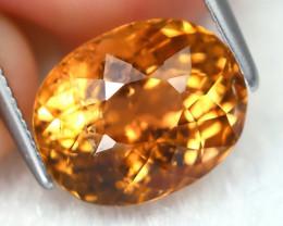 Golden Tourmaline 4.48Ct Oval Cut Natural Golden Tourmaline A2508
