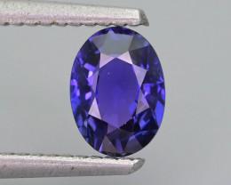 Blue Color Change Sapphire 0.98 ct Royal Blue Sri Lanka SKU.32