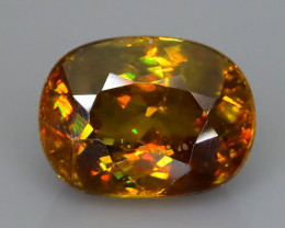 Rare AAA Fire 2.44  ct Sphene Sku-58