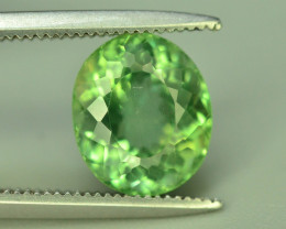Great Luster 2.45 ct Green Apatite ~ T