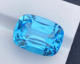 Topaz Blue Stunning 28.60 Ct Natural Blue Topaz Topaz Gemstone