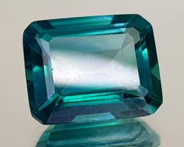 5.26Crt Green Topaz Coated Natural Gemstones JI108
