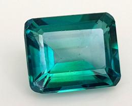 5.81Crt Green Topaz Coated Natural Gemstones JI108