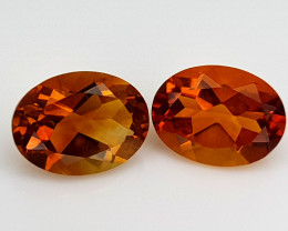 2.55Crt Madeira Citrine Natural Gemstones JI108