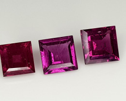 4Crt Grape Garnet Natural Gemstones JI108