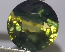 1.60 CTS EXCELLENT NATURAL ULTRA RARE MADAGASCAR ROUND GREEN  SAPPHIRE~$650