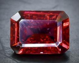 1.94 Crt Natural  Rhodolite Garnet Faceted Gemstone.( AB 61)