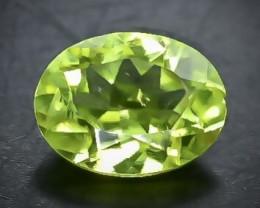 1.19 Crt Natural Peridot Faceted Gemstone.( AB 61)