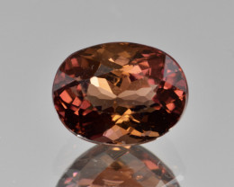 Natural Red Tourmaline 3.30 Cts Good Quality Gemstone