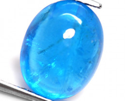 *No Reserve* Neon Blue Apatite 3.54 Cts Un Heated Natural Gemstone