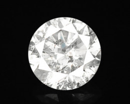 *No Reserve* White Diamond 0.41 Cts Untreated Fancy Natural Sparkling Diamo