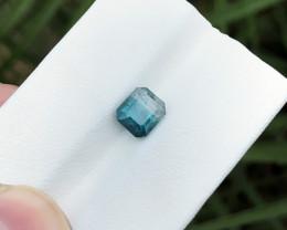 1.95 Ct Natural Bi Color Transparent Tourmaline Ring Size Gemstone
