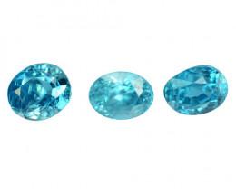 5.03  CTS BLUE ZIRCON NATURAL LOOSE GEMSTONE