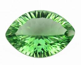 *No Reserve* Quartz 12.32 CTS Green Quartz Natural Gemstone