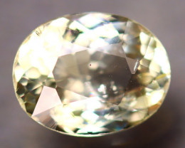 Heliodor 2.13Ct Natural Yellow Beryl D3005/A56