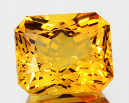 ~CUSTOM CUT~ 7.44 Cts Natural Golden Orange Citrine Fancy Brazil