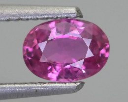 Ceylon Pink Sapphire 0.99 ct Lively Saturated color SKU.30