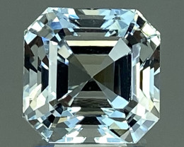 15.53Ct Aquamarine Excellent Asscher Cut Beautiful Quality Gemstone. AQF 15