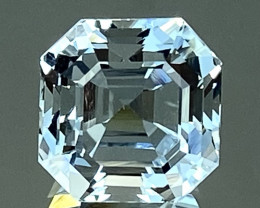 9.31Ct Aquamarine Excellent Asscher Cut Beautiful Quality Gemstone. AQF 18