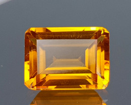 1.57CT MADEIRA CITRINE BEST QUALITY GEMSTONE IIGC08