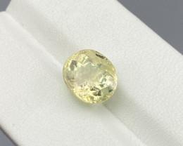 Natural Yellow Tourmaline 4.80 Cts Good Quality Gemstone