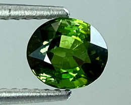 0.98Natural Chrome Tourmaline Sparkiling Luster Top Quality Gemstone. CT10