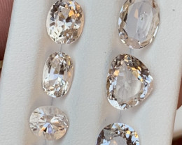 34.50 carats Kunzite gemstones parcel