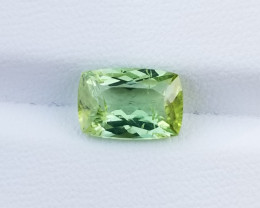 A Beautiful Green Tourmaline 2.35 CTS Gem