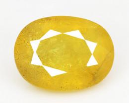 3.66 Carat Very Rare Yellow Color Natural Sapphire Loose Gemstones