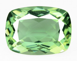 9.49 Cts Rare Fancy Green Colors Natural Mystic